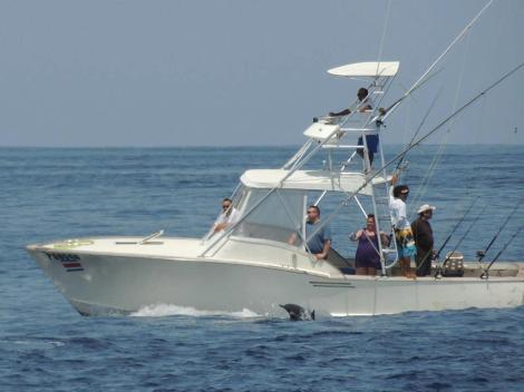 Costa Rica sport fishing business for sale.
